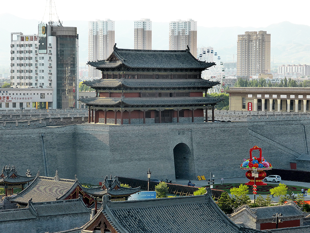 The new old city of Datong