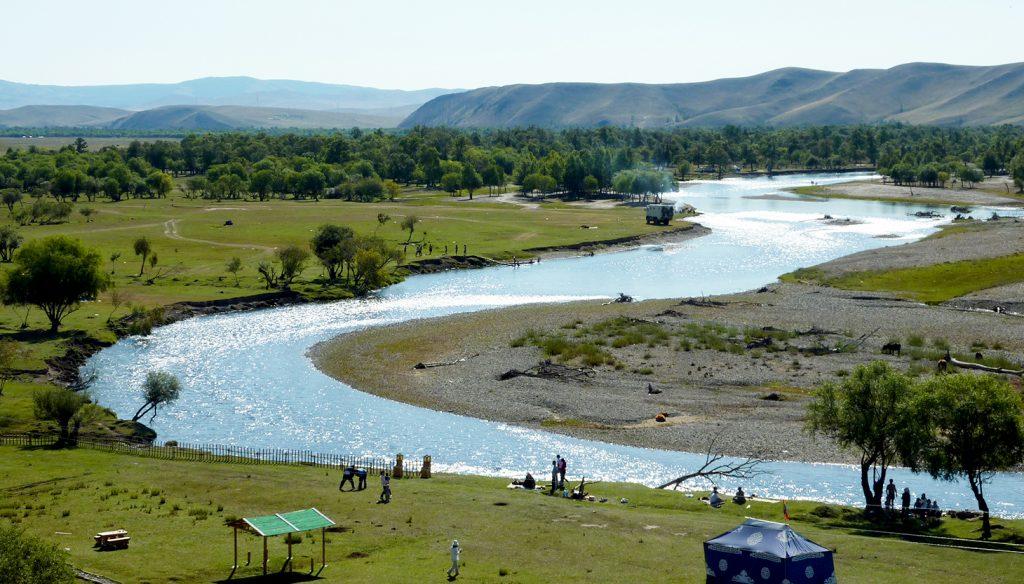 Winding Mongolian Rivers