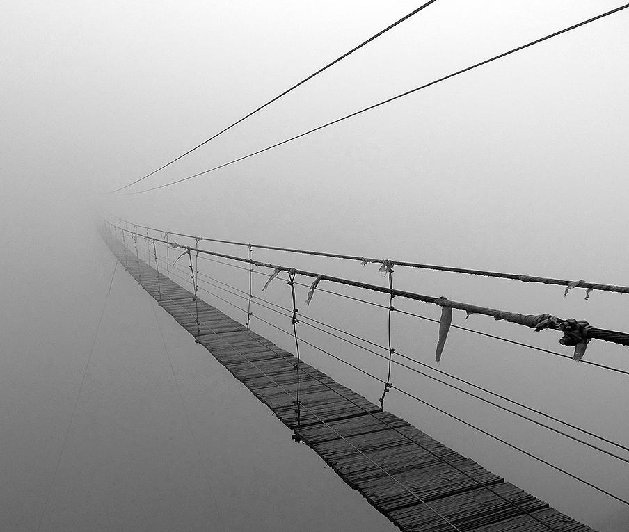Bridge to Nowhere Sikou Ningxia