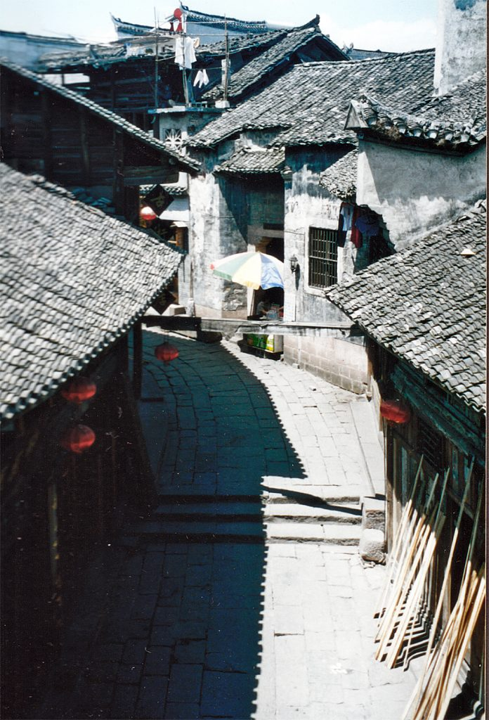 Back streets of Fenghuang