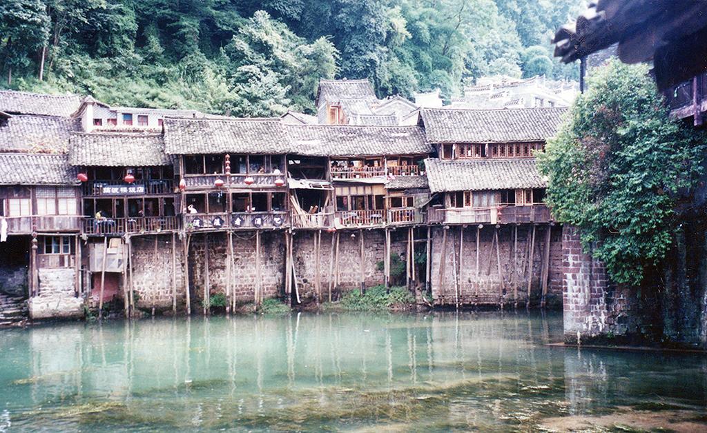 Old houses in Fenghuang 2003