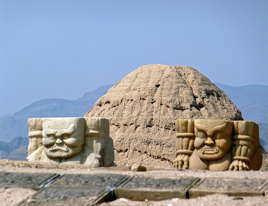 Western Xia Tombs Near Yinchuan Ningxia